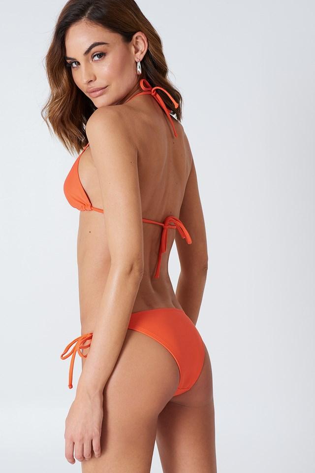 Triangle Bikini Top Hot Coral