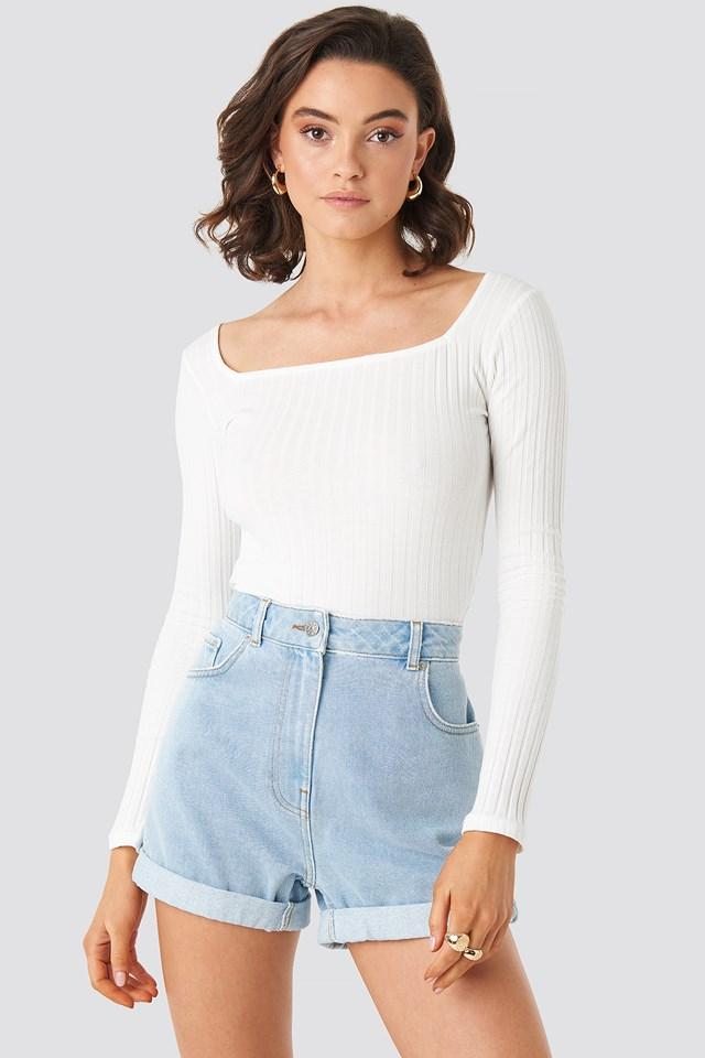 Turn Up Mom Shorts NA-KD.COM
