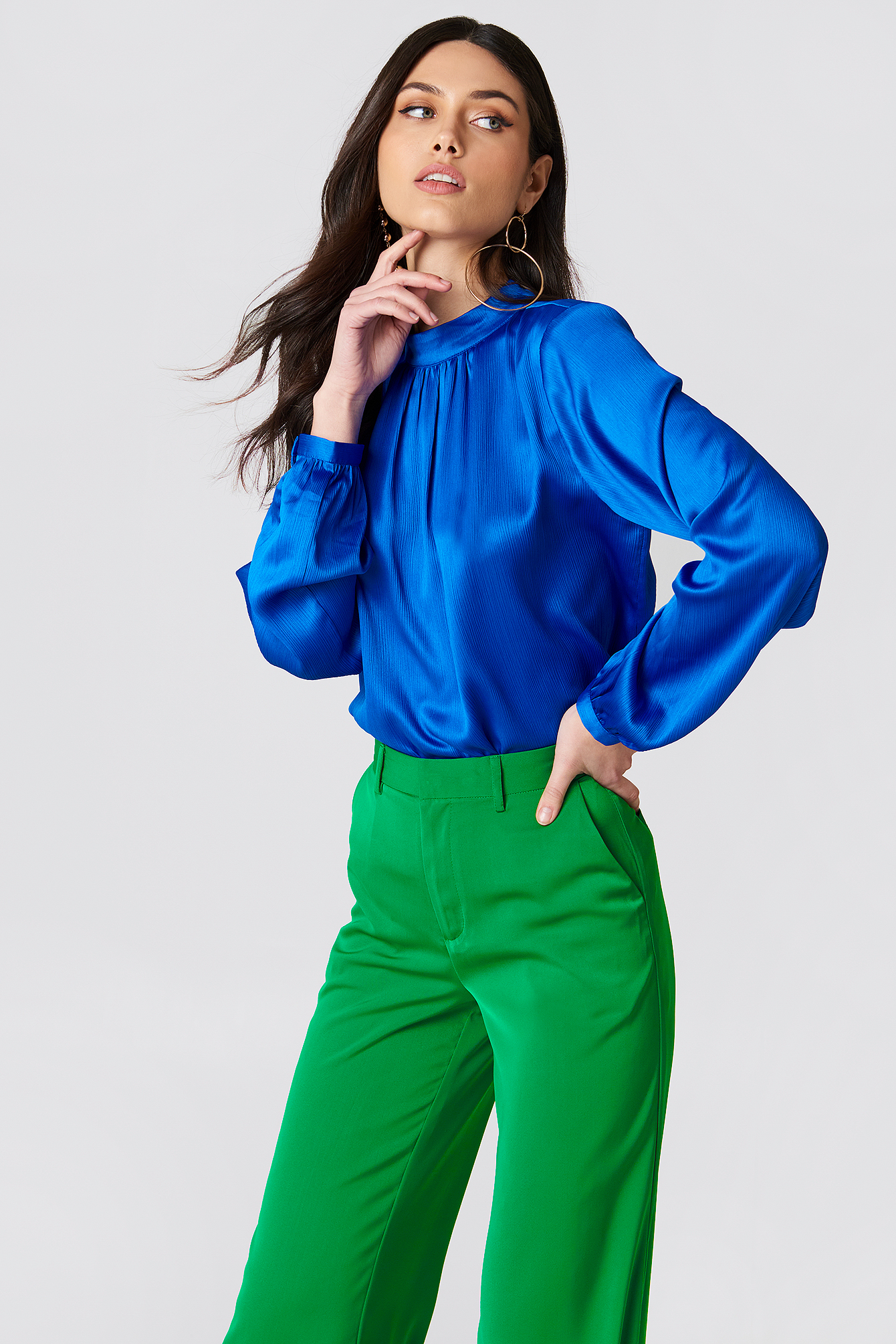 Turtle Neck Blouse NA-KD.COM
