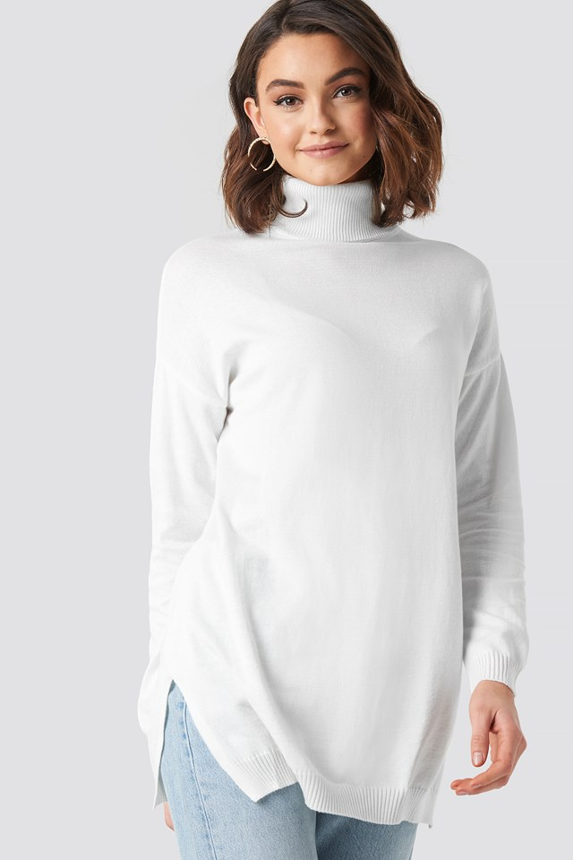 Turtle Neck Long Sweater NA-KD Trend