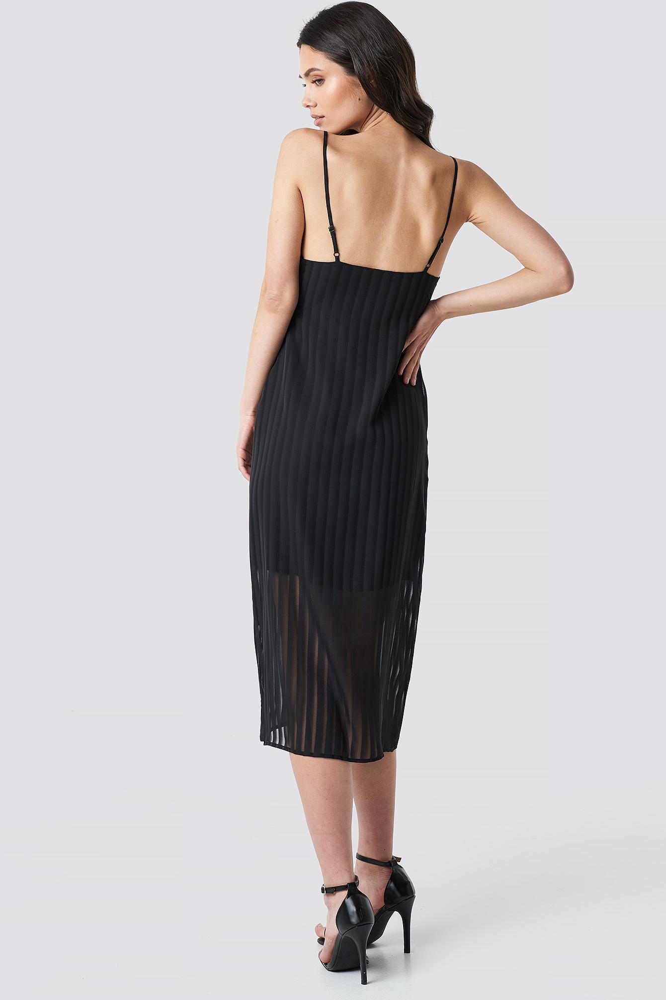 Twist Front Strap Dress NA-KD.COM