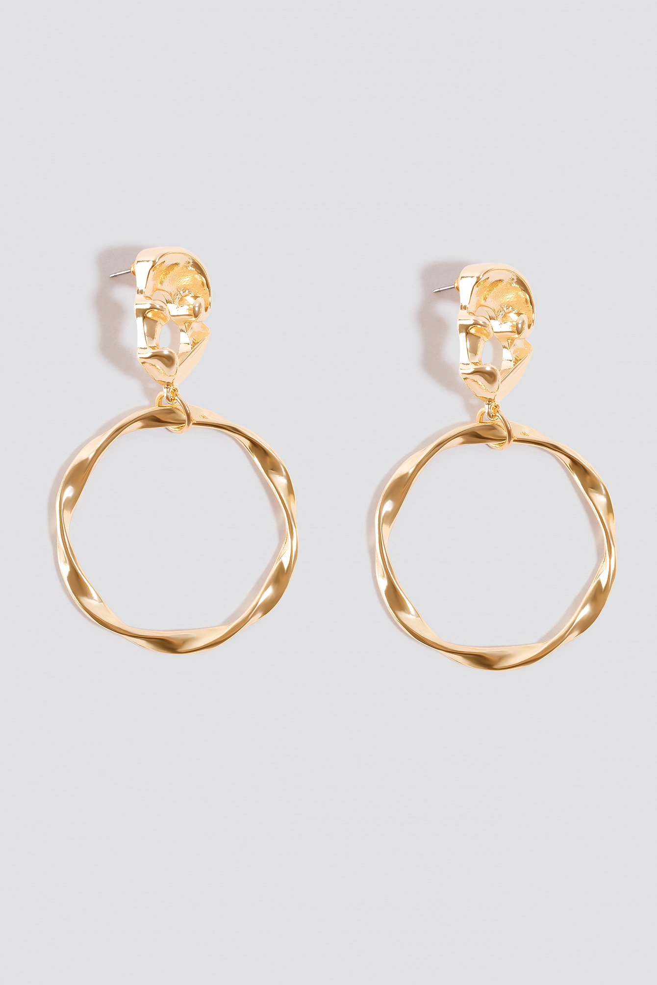 Twisted Top Ring Hoops NA-KD.COM
