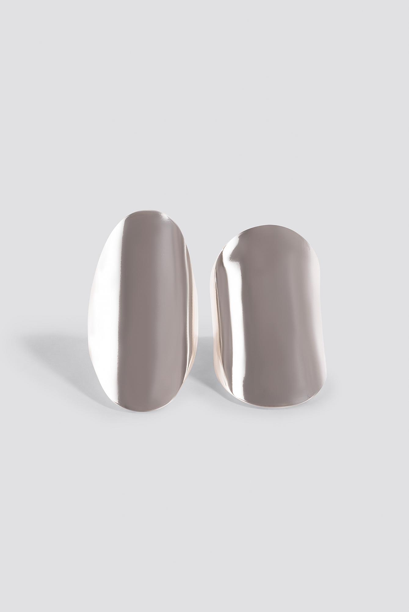 Two Asymmetric Chunky Rings NA-KD.COM