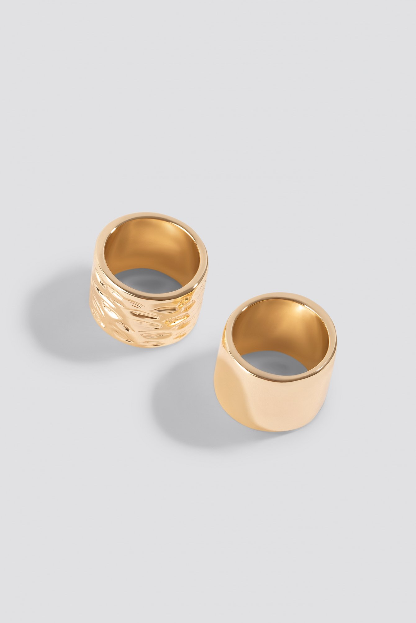 Two Chunky Rings NA-KD.COM