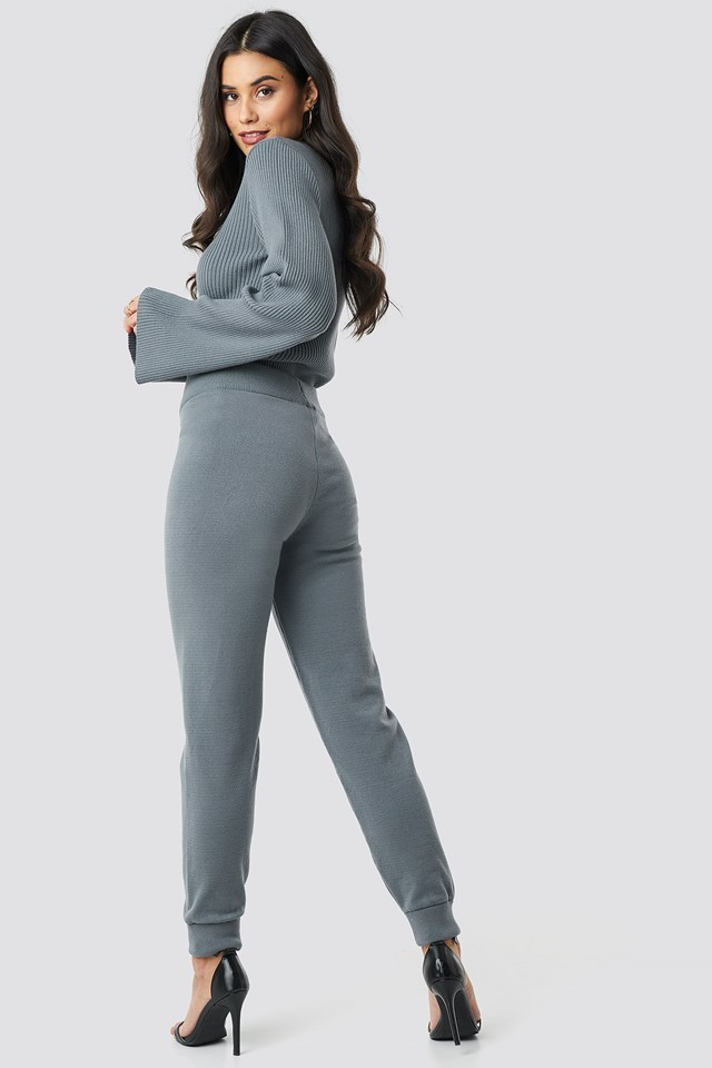 Ty Knitted Pants NA-KD.COM