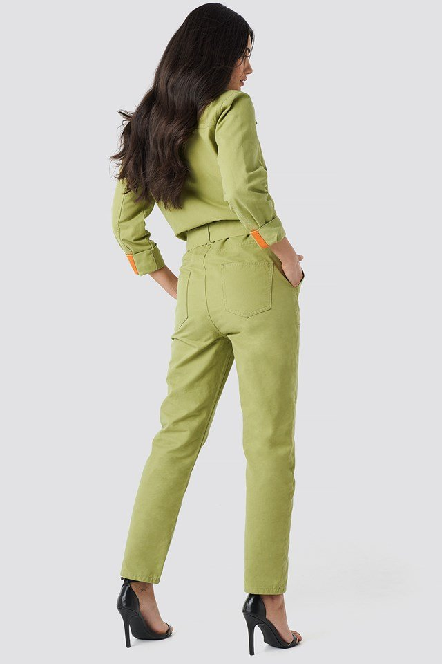 Utility Jumpsuit Green