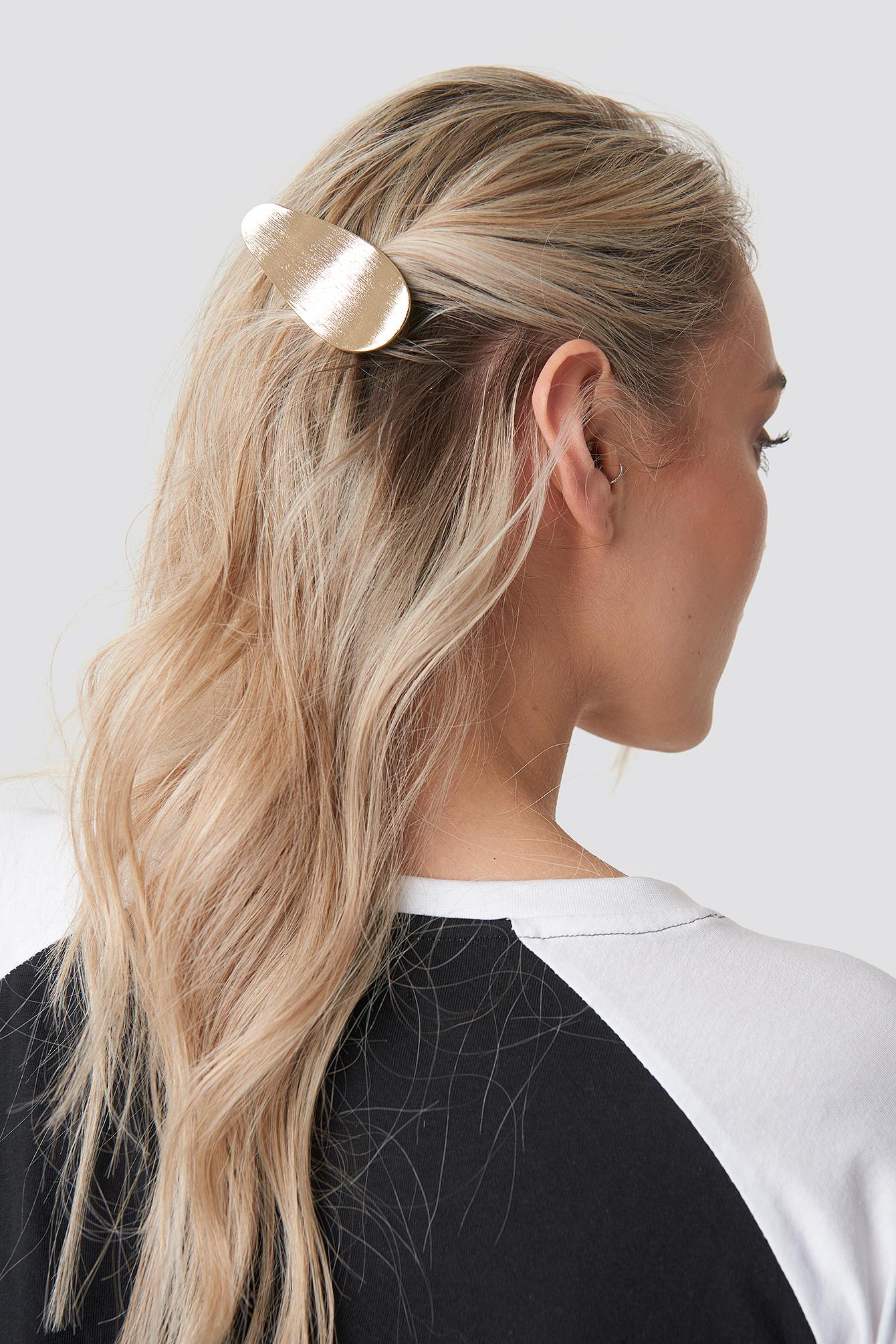 Uneven Metal Hair Clip NA-KD.COM