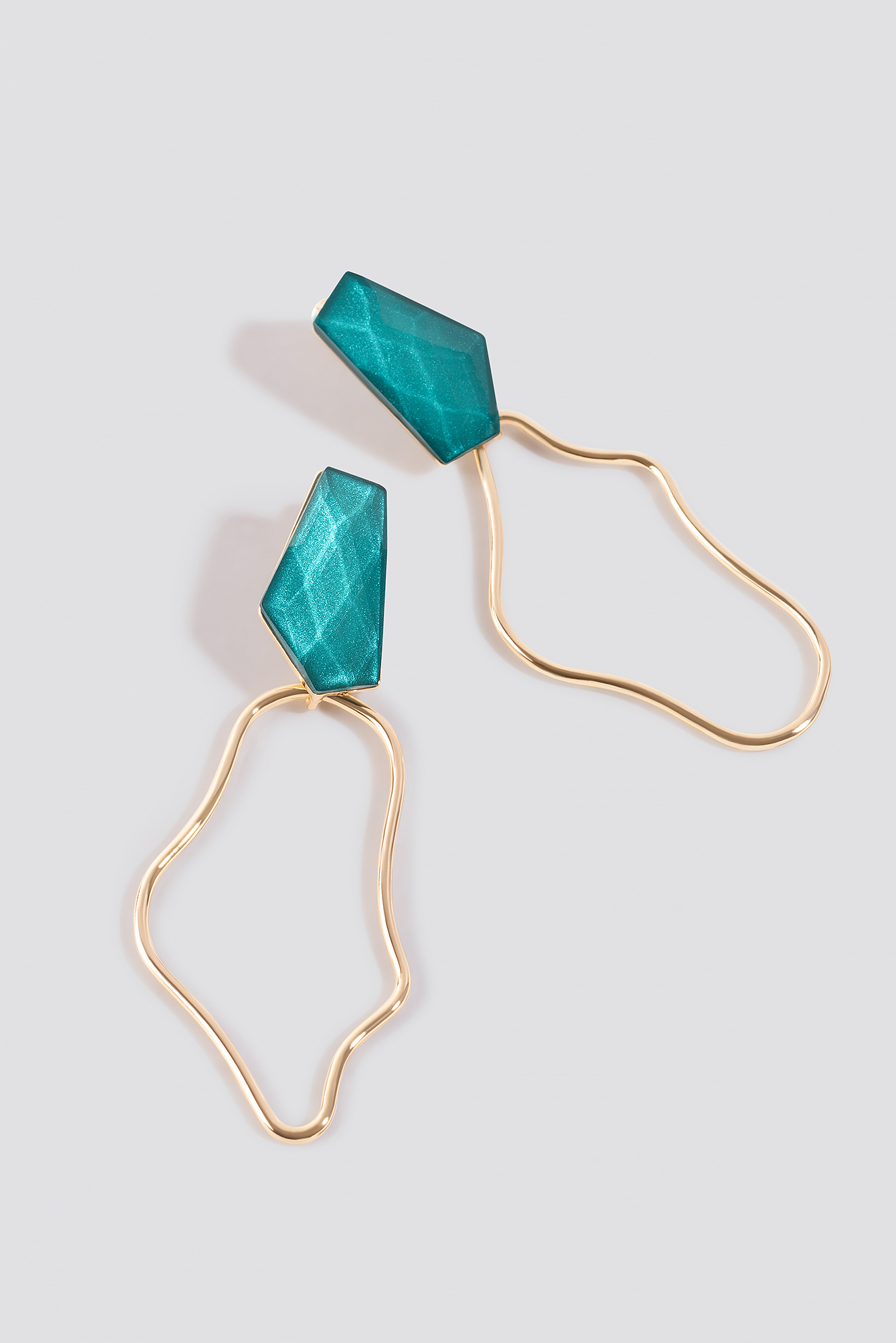 Uneven Wire Earrings NA-KD.COM