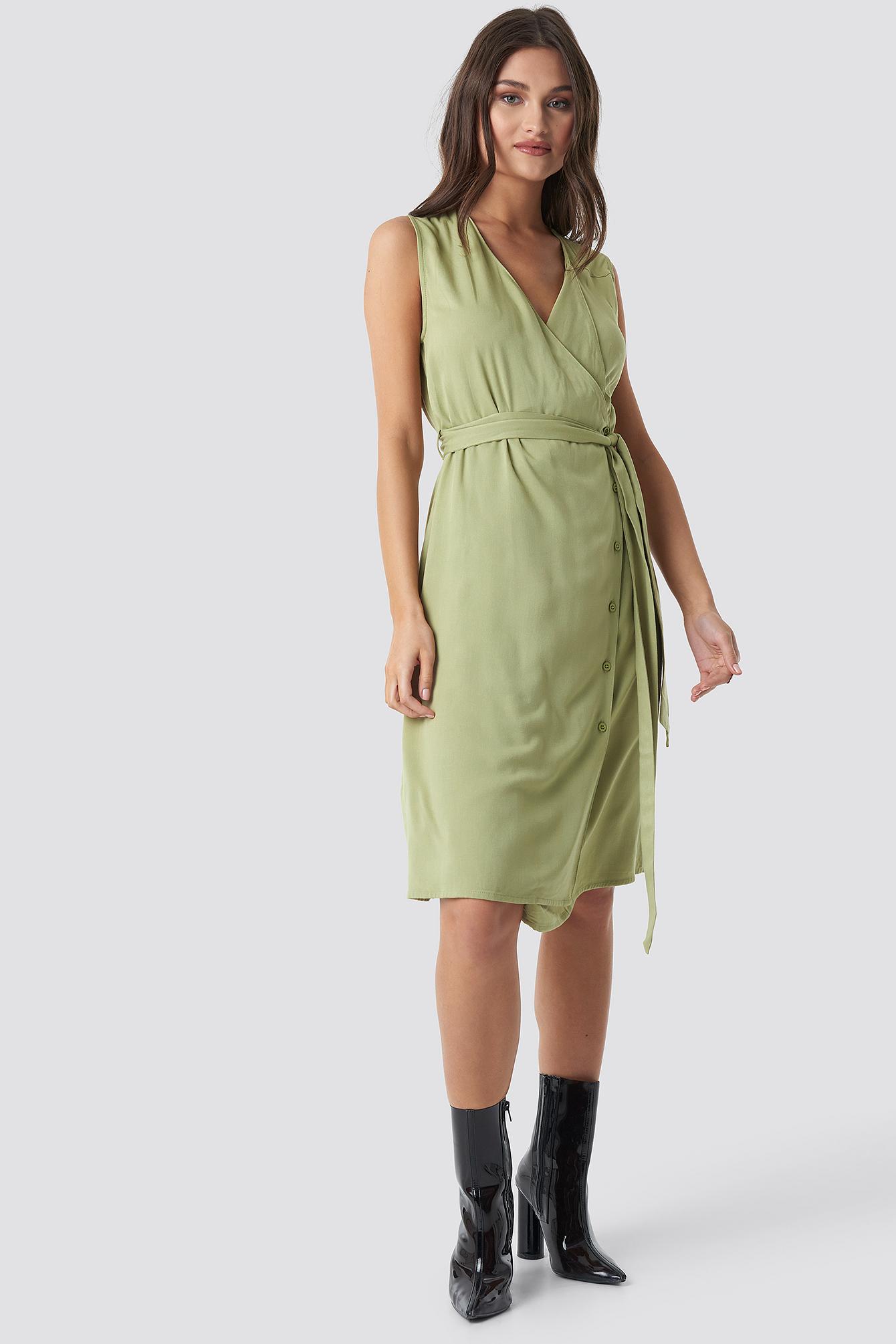 Utility Midi Dress NA-KD.COM
