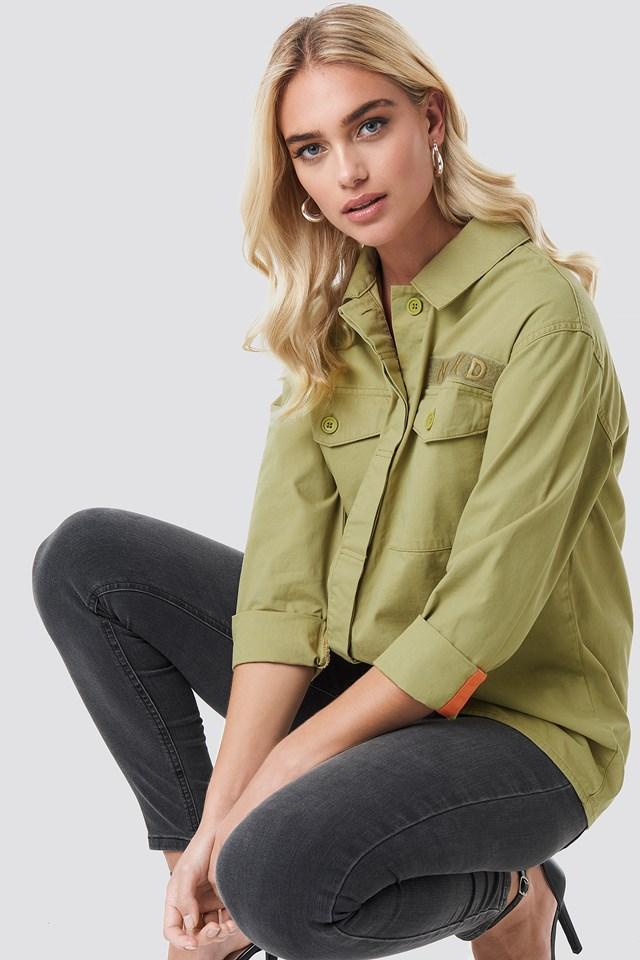 Utility Pocket Shirt Green