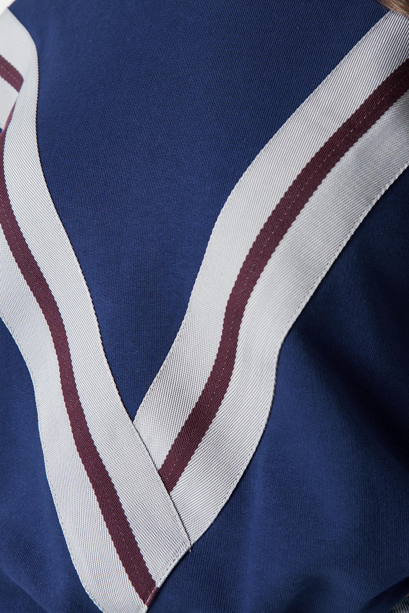 V Striped Hoodie NA-KD.COM