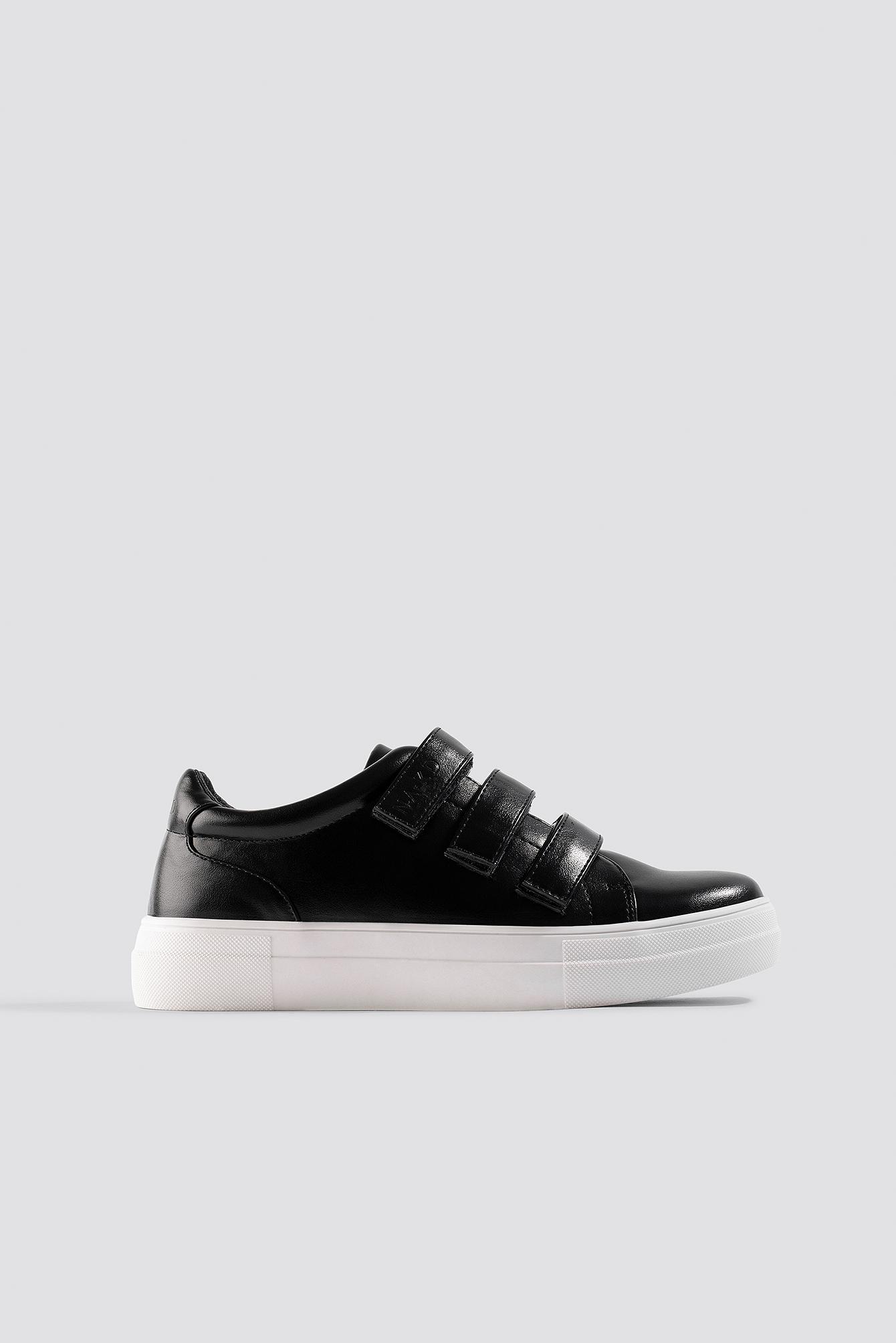 Velcro Sneakers Black | na-kd.com