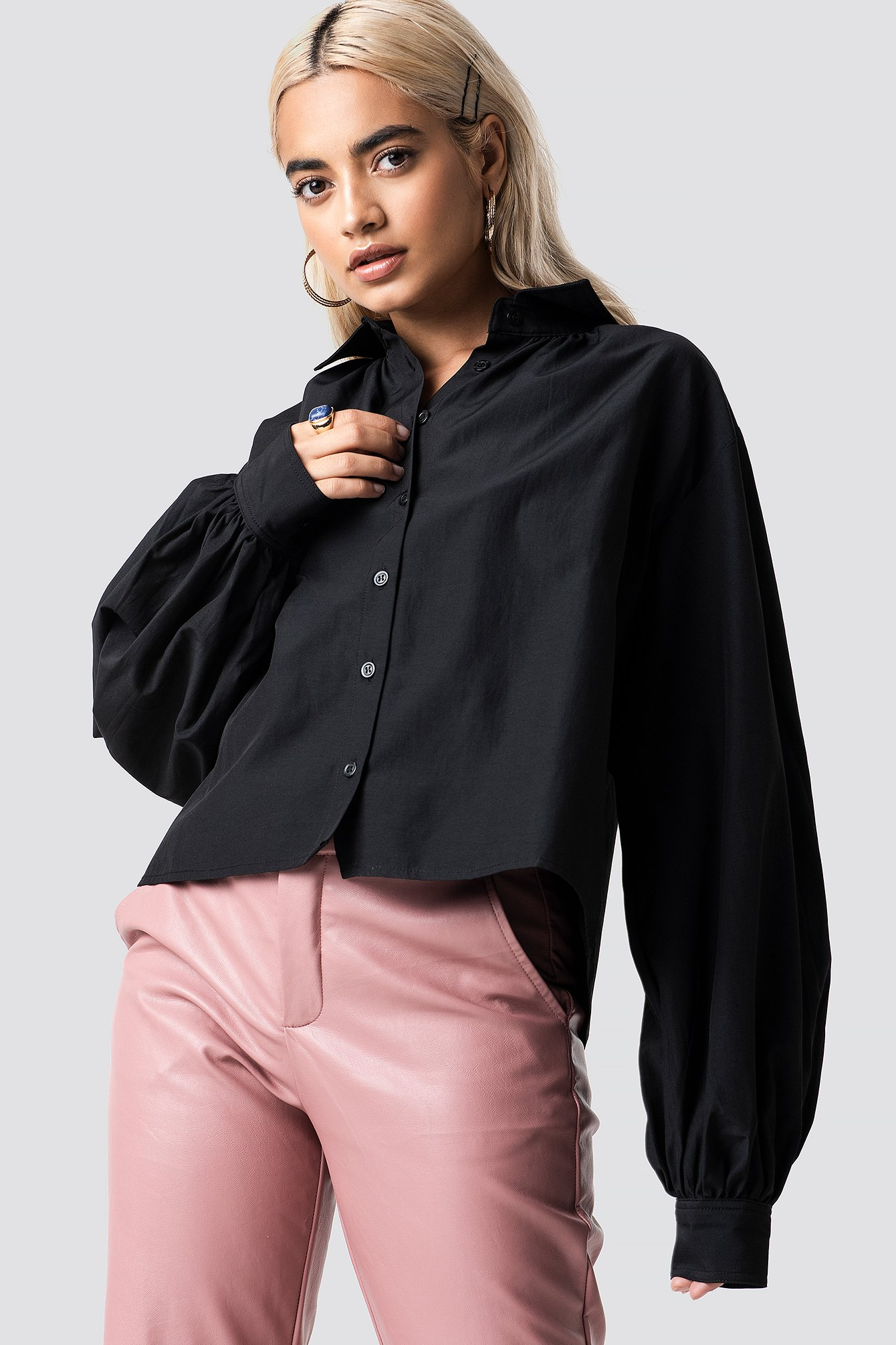 Volume Sleeve Shirt NA-KD.COM