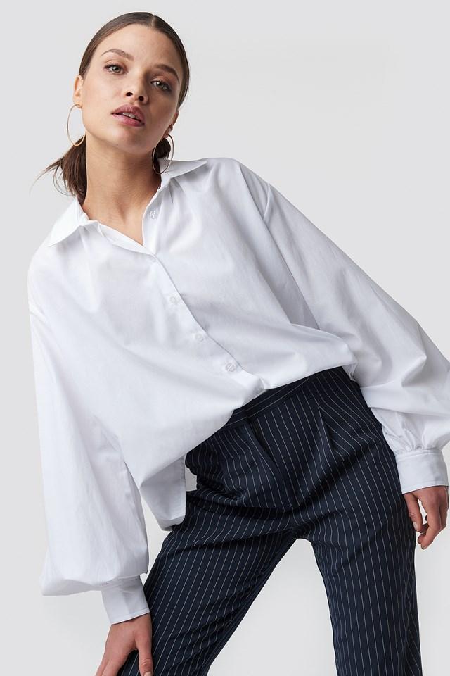 Volume Sleeve Shirt NA-KD Classic