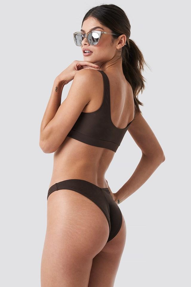 V Shape Bikini Bottom NA-KD.COM