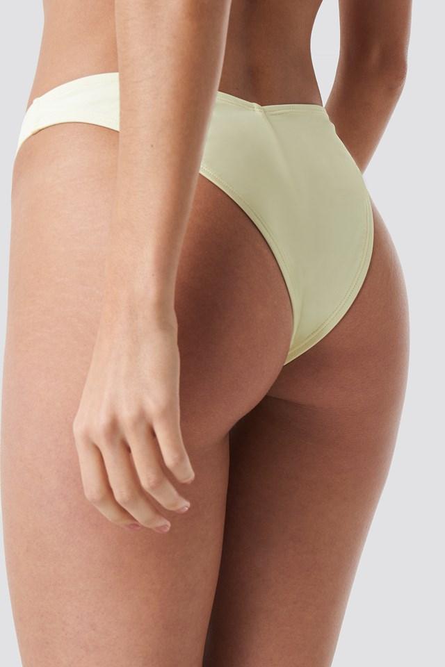 V Shape Bikini Bottom Cream