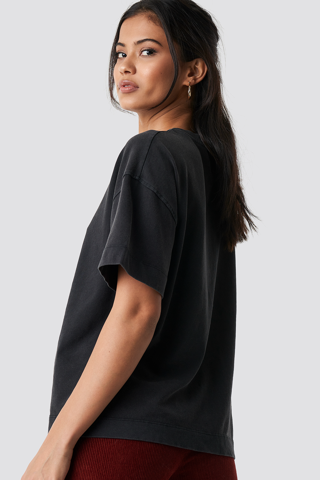 Washed out Oversize tee NA-KD.COM