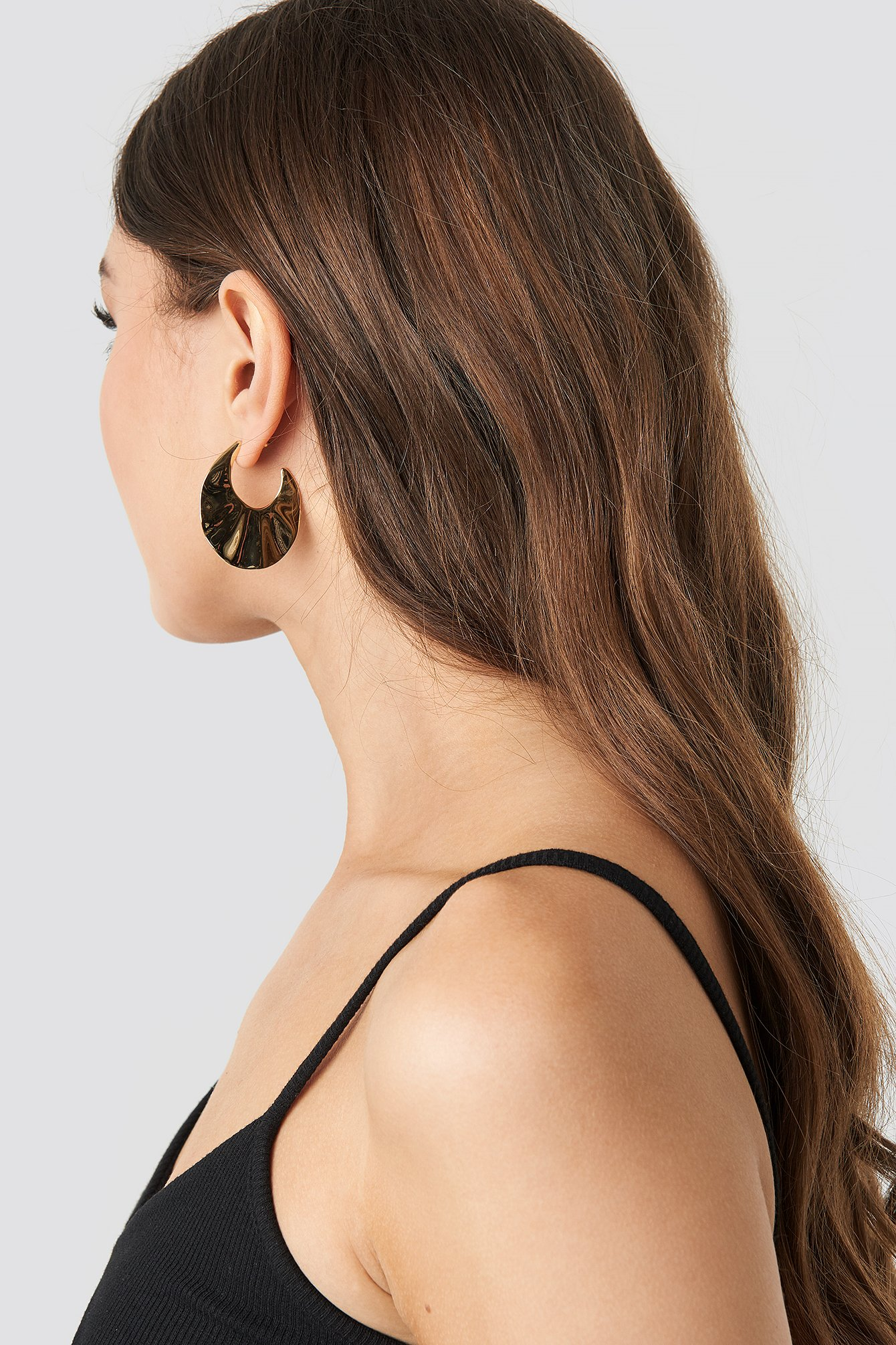 Wavy Open Hoop Earrings NA-KD.COM