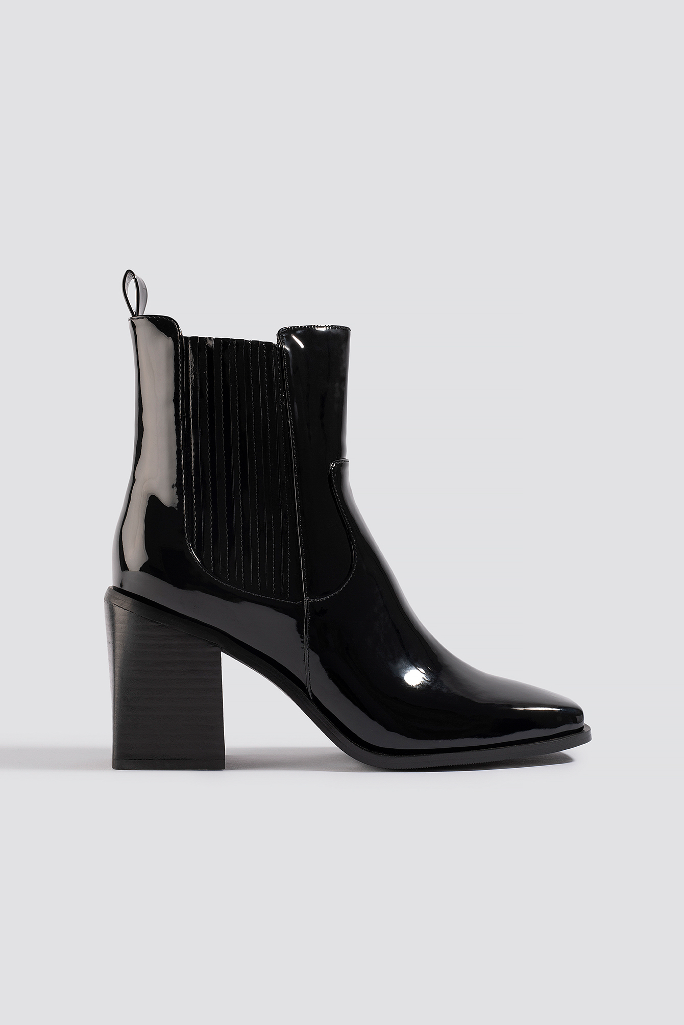 na-kd shoes -  Western Chelsea Boots - Black