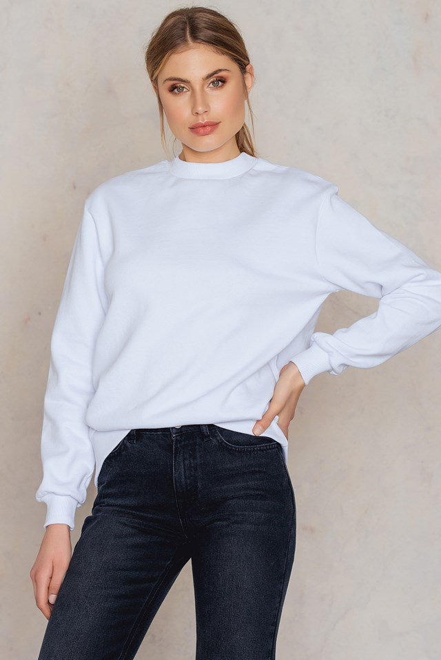 What I Really Want Sweater White