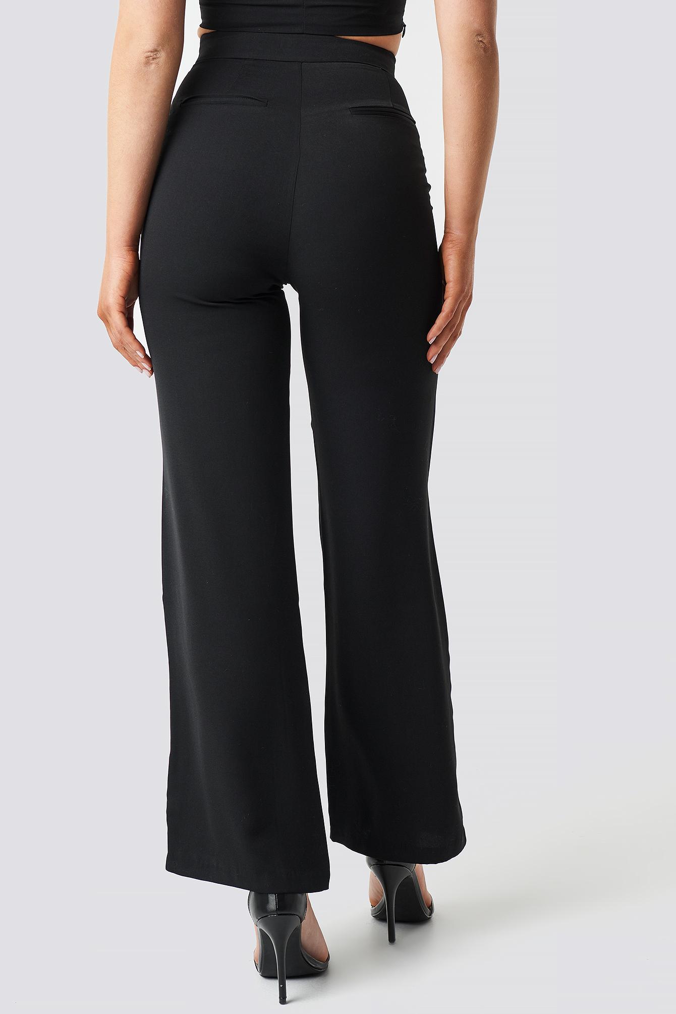 Wide Leg High Waist Pants NA-KD.COM