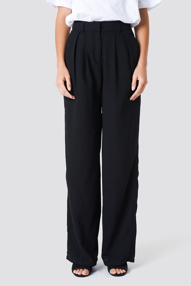 Wide Pants Black