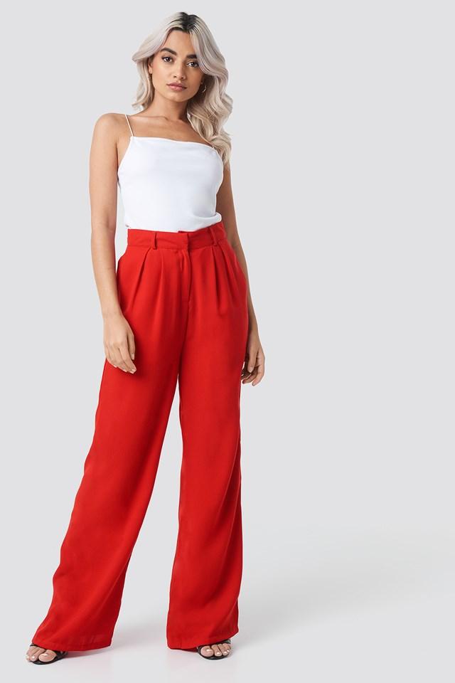 Szerokie spodnie NA-KD.COM