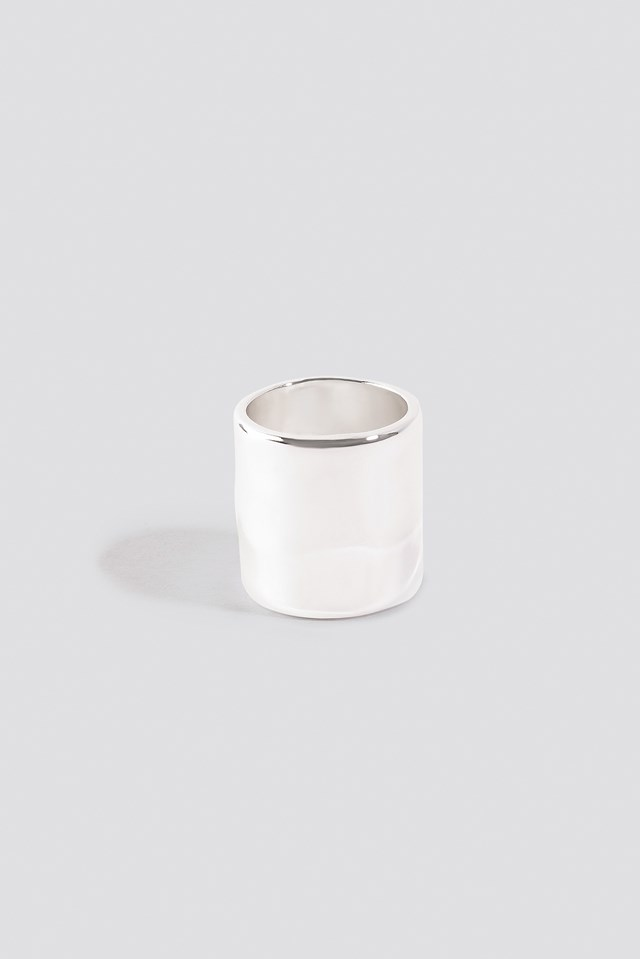 Wide Pinky Ring Silver