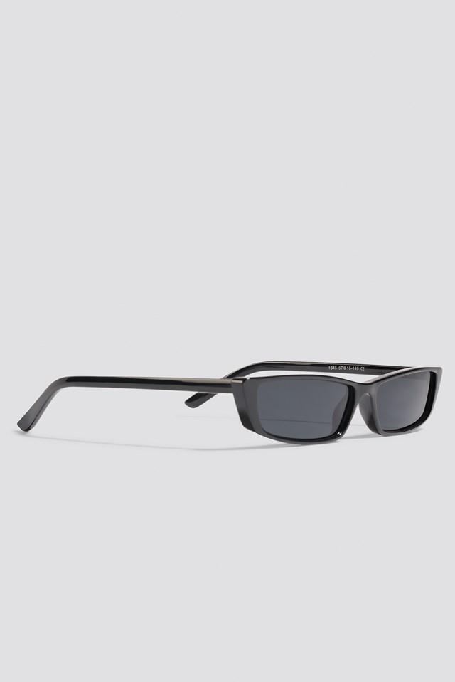 Wide Rectangle Sunglasses NA-KD.COM
