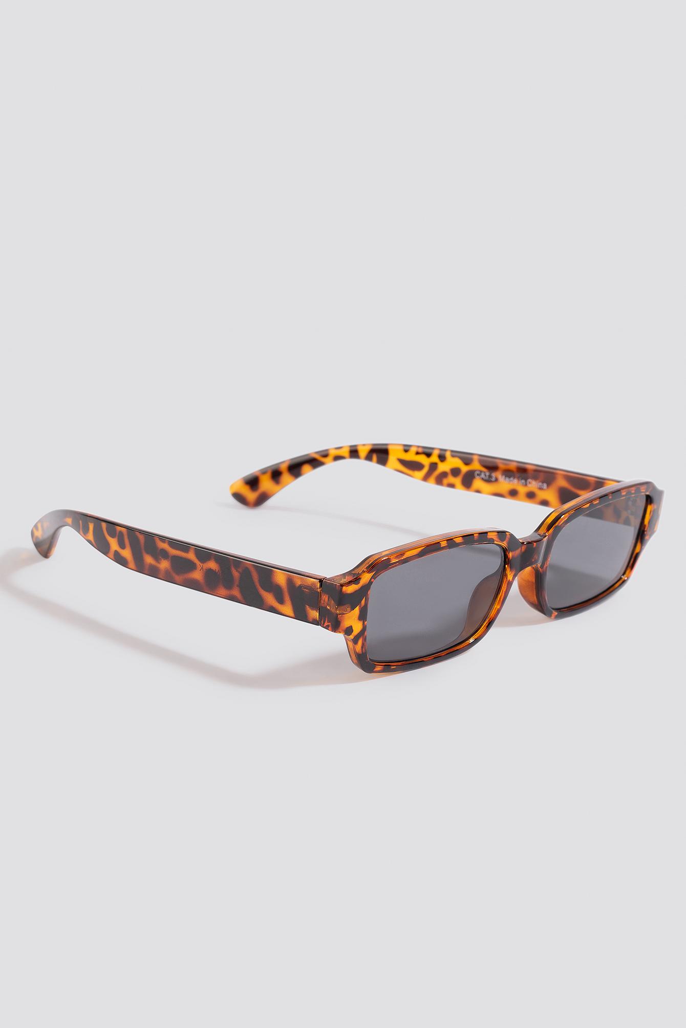 Wide Rectangular Sunglasses NA-KD.COM