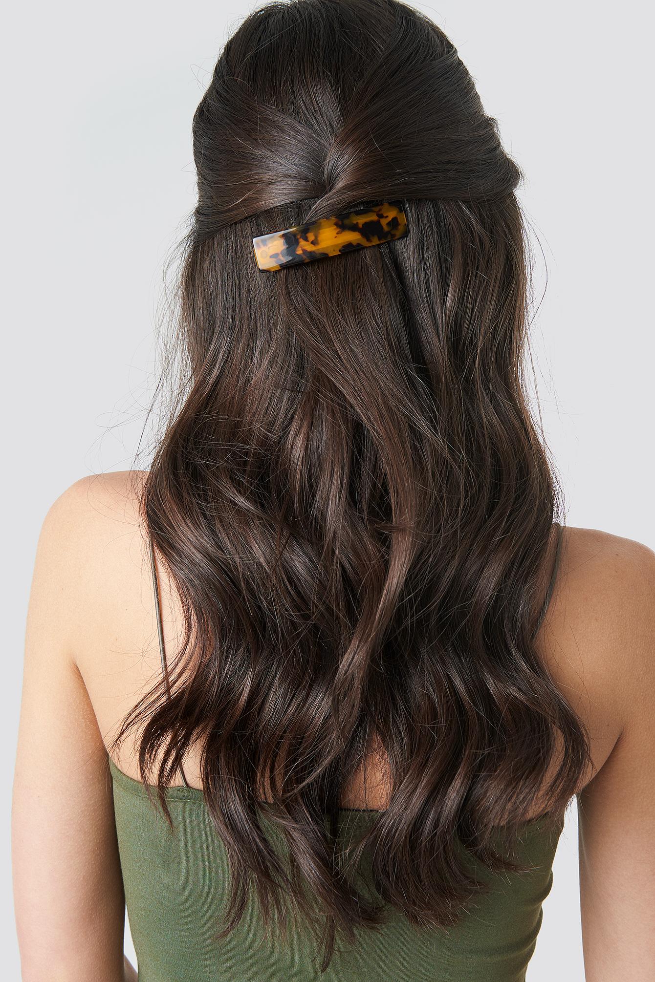 Wide Resin Hair Clip NA-KD.COM