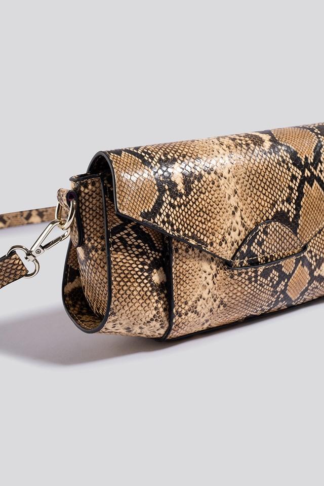 Wide Shoulder Bag Snake