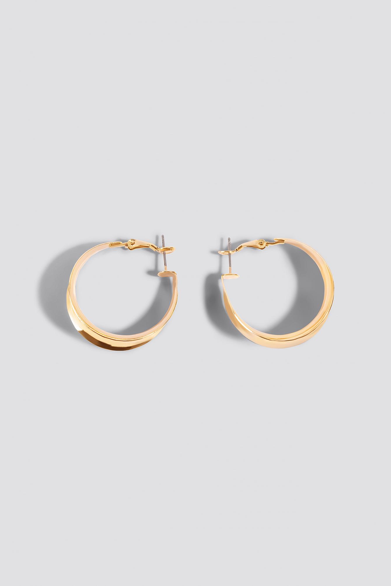 Wide Small Hoop Earrings NA-KD.COM