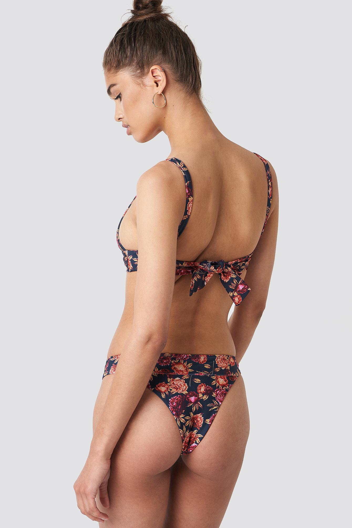 Dół bikini z szerokim paskiem NA-KD.COM