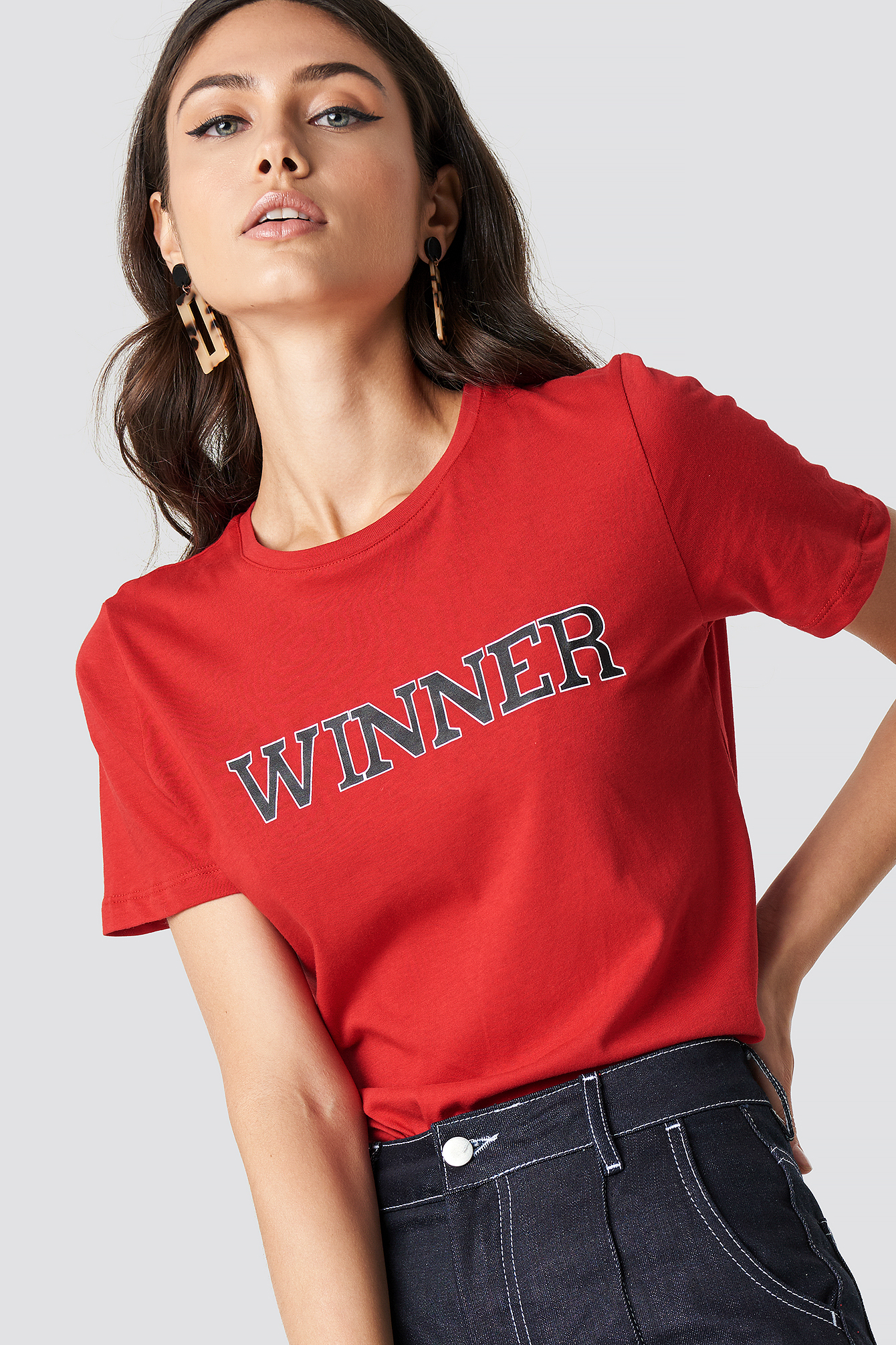Winners Basic tee NA-KD.COM