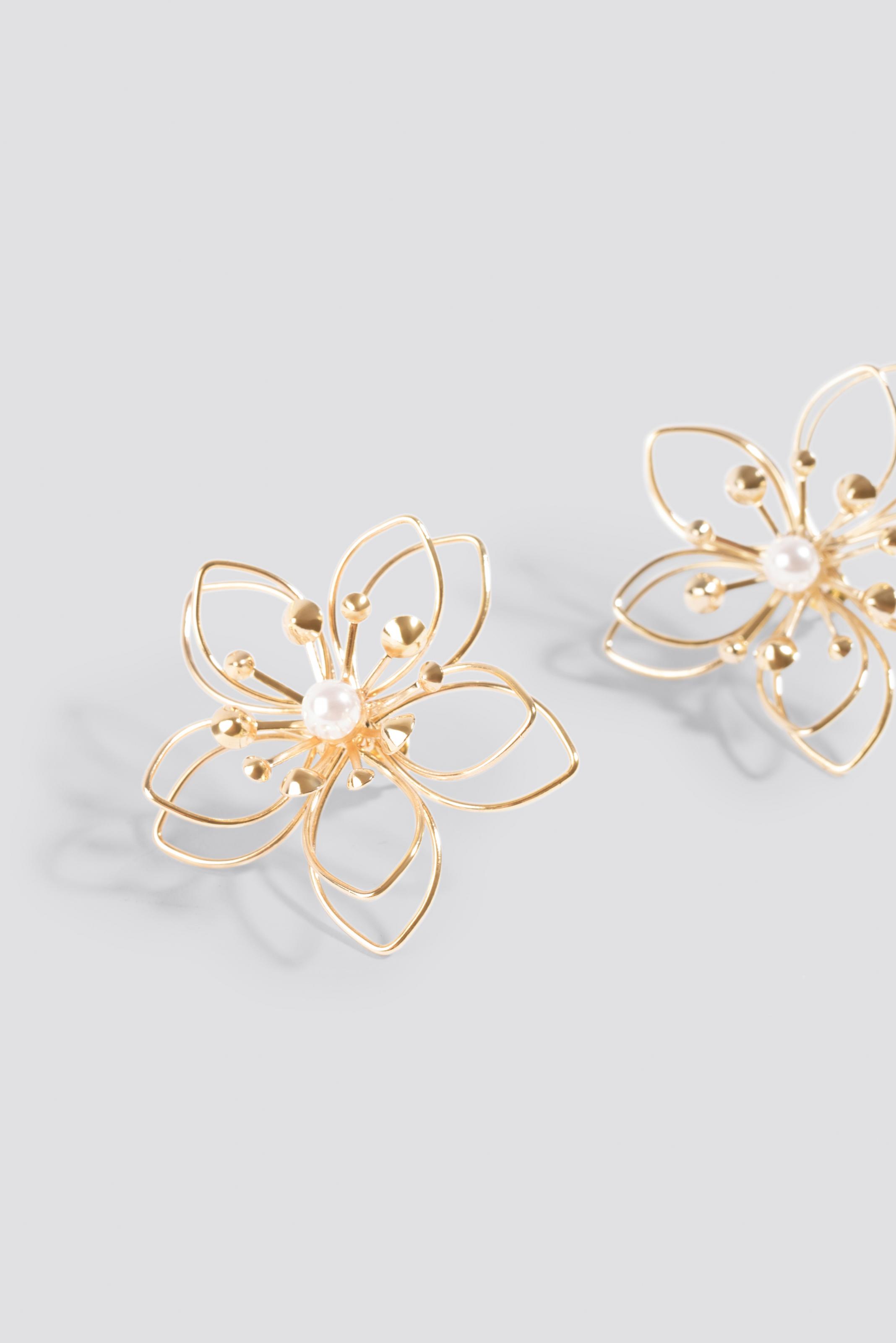 Kolczyki Wire Blossom NA-KD.COM