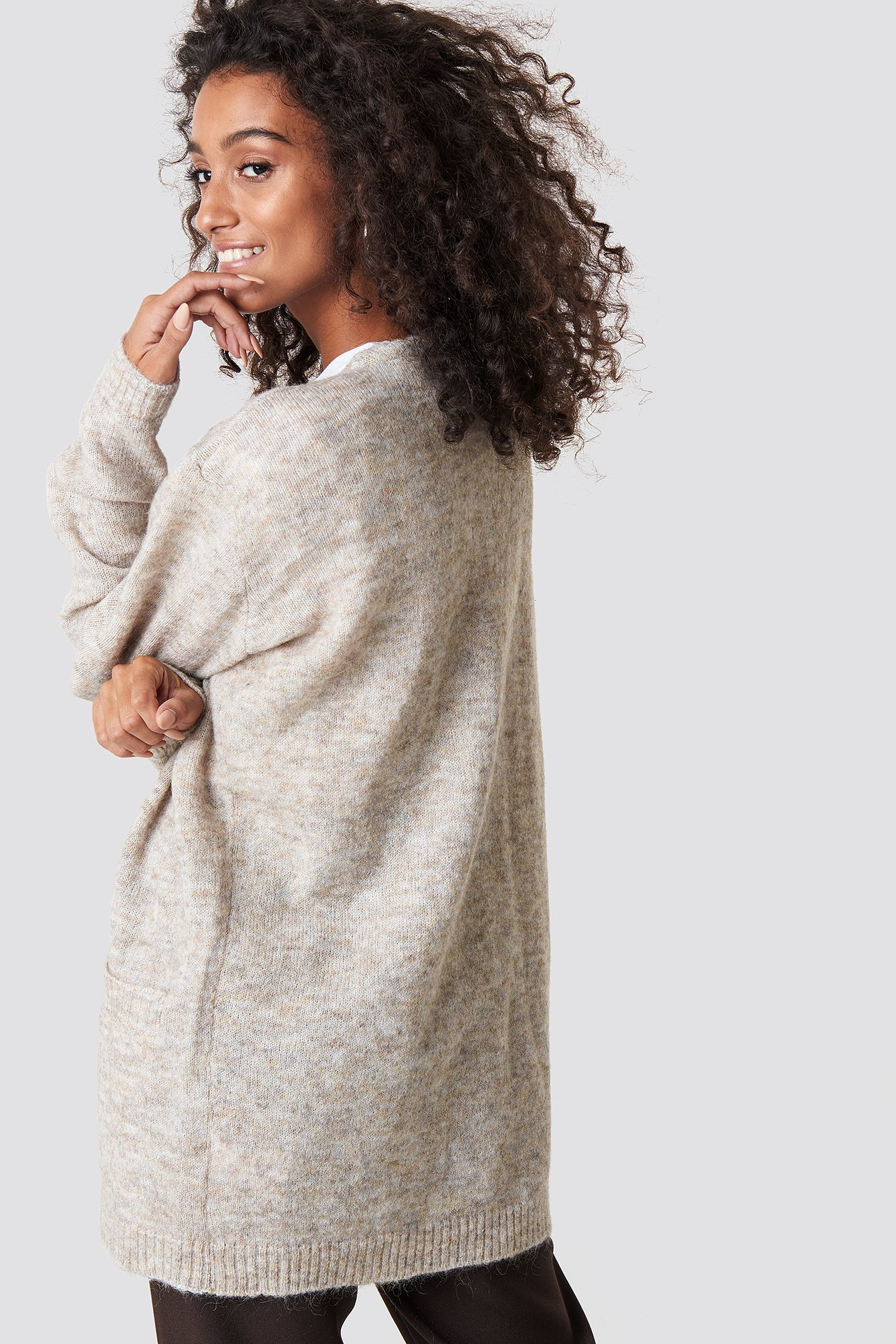 Wool Blend Cardigan NA-KD.COM