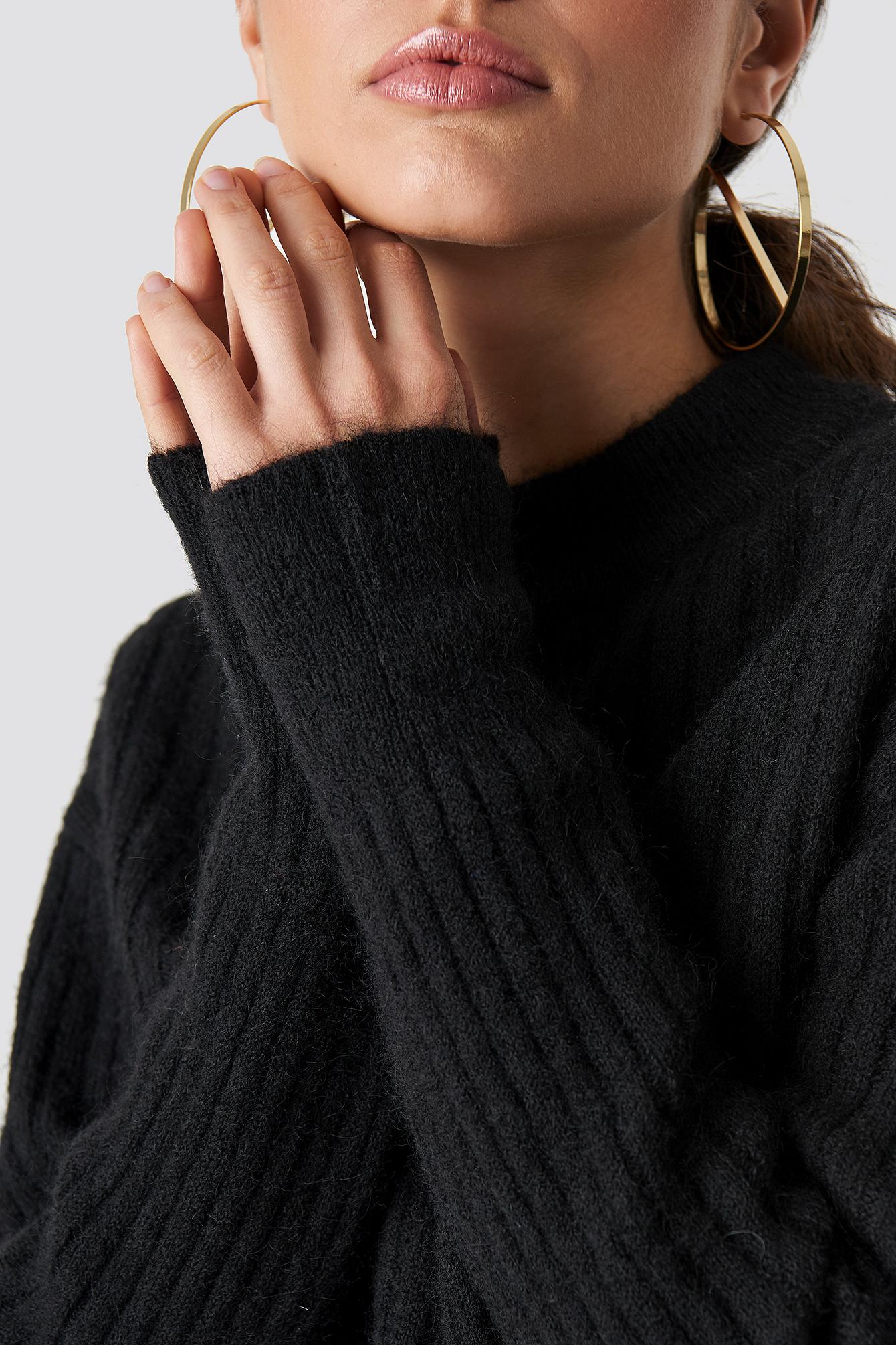 Wool Blend Sweater NA-KD.COM
