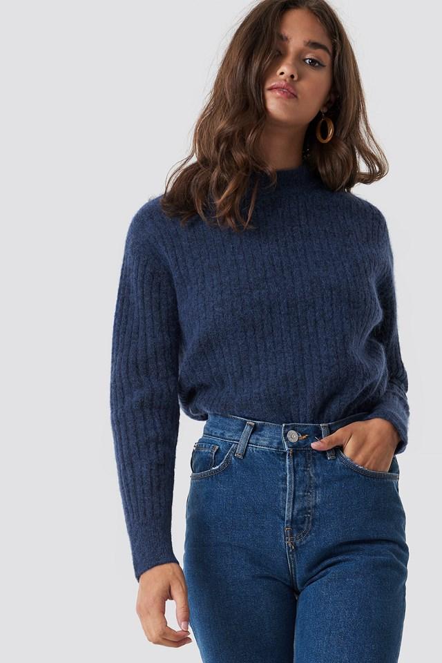 Wool Blend Sweater NA-KD Trend
