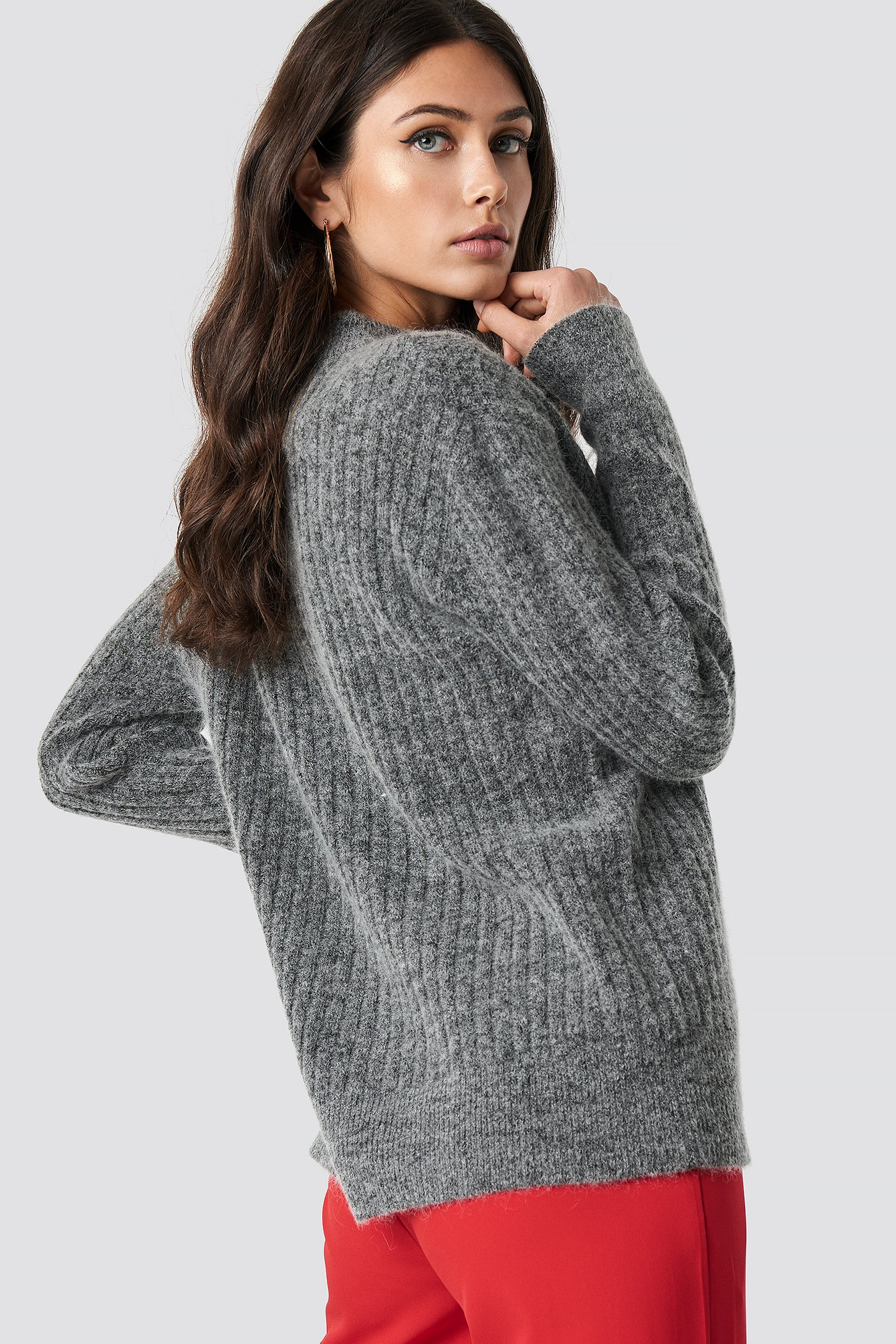 Wool Blend Sweater NA-KD.COM