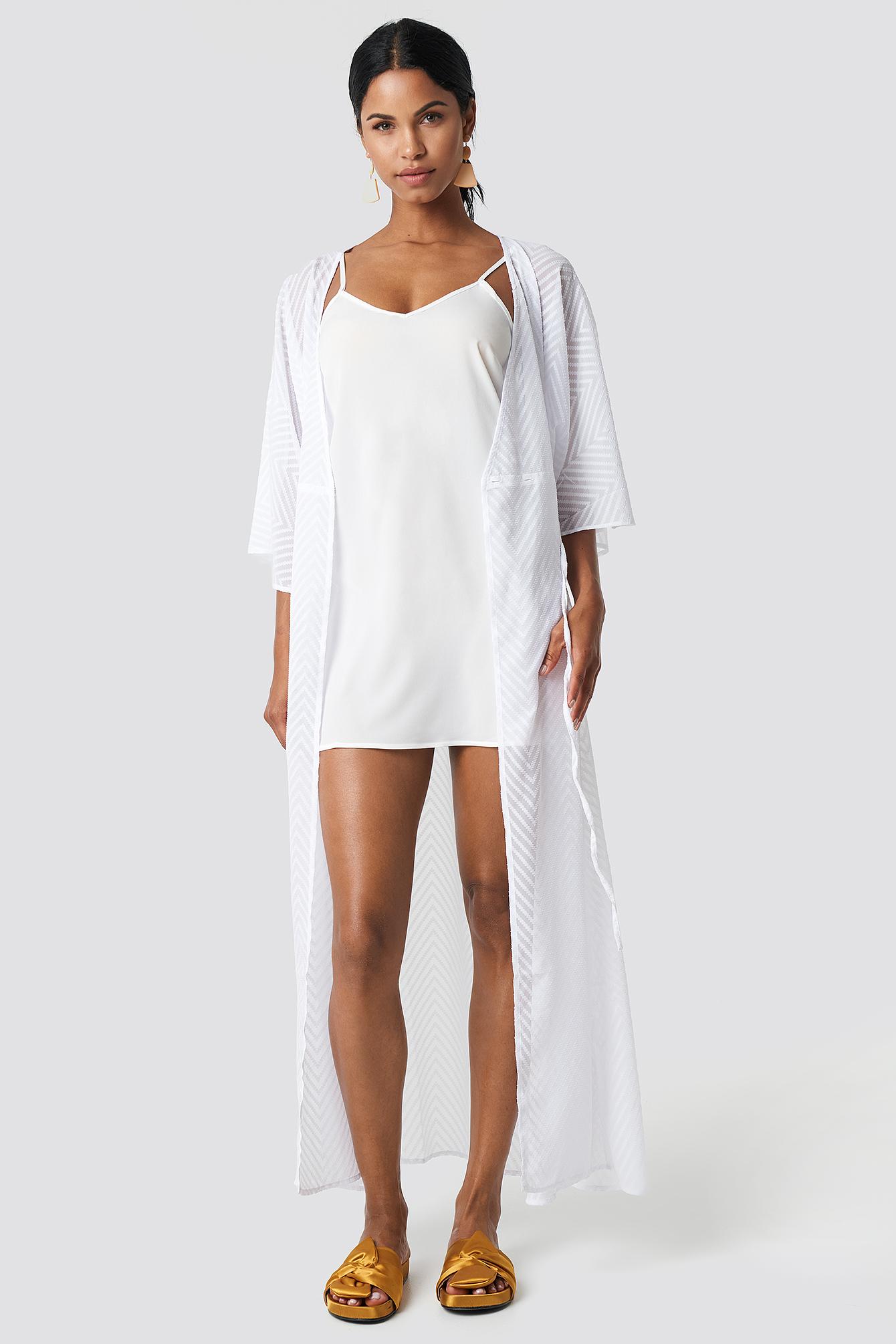 Sukienka z tkaniny Basic NA-KD.COM