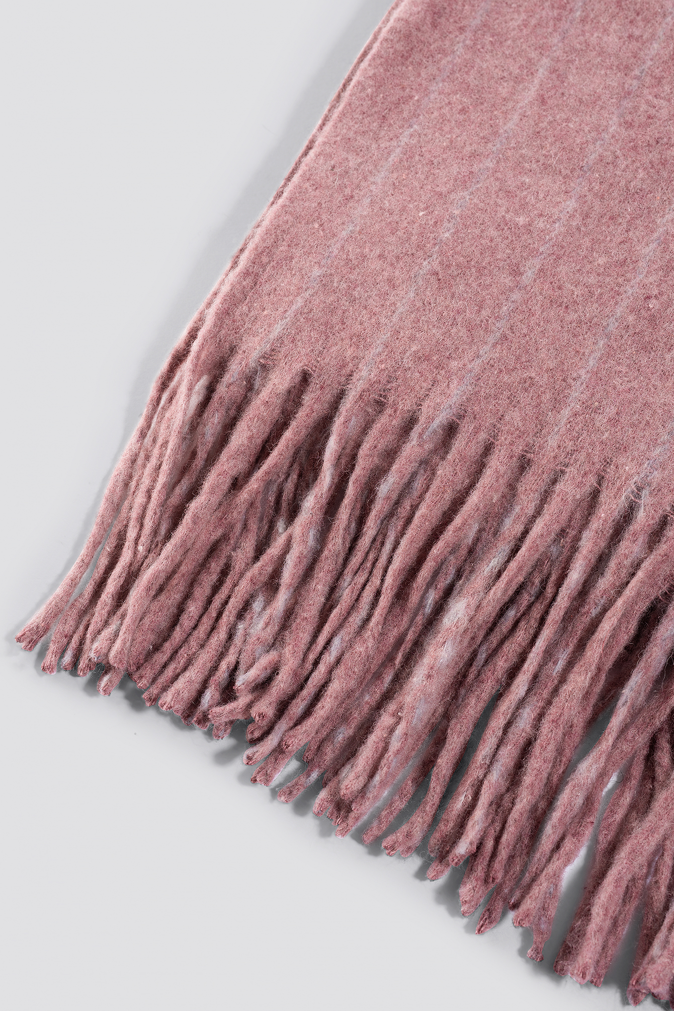 Rose Woven Pinstripe Scarf