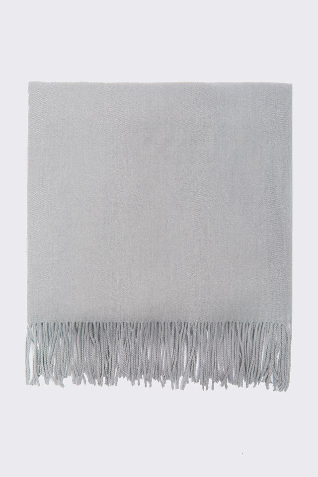 Woven Scarf Grey