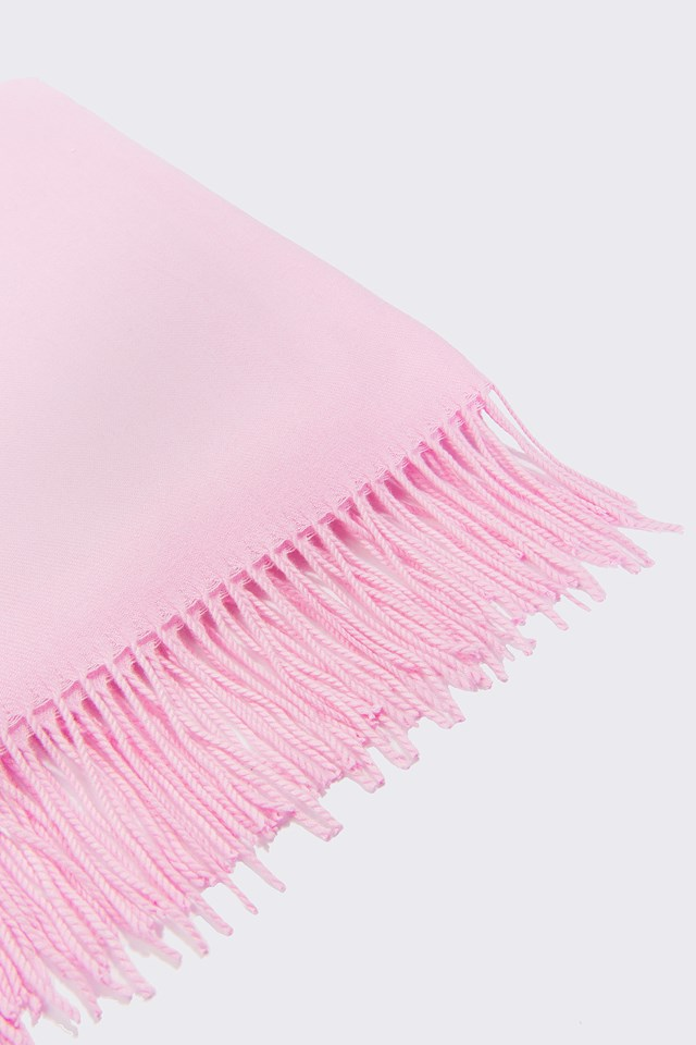 Woven Scarf Pink