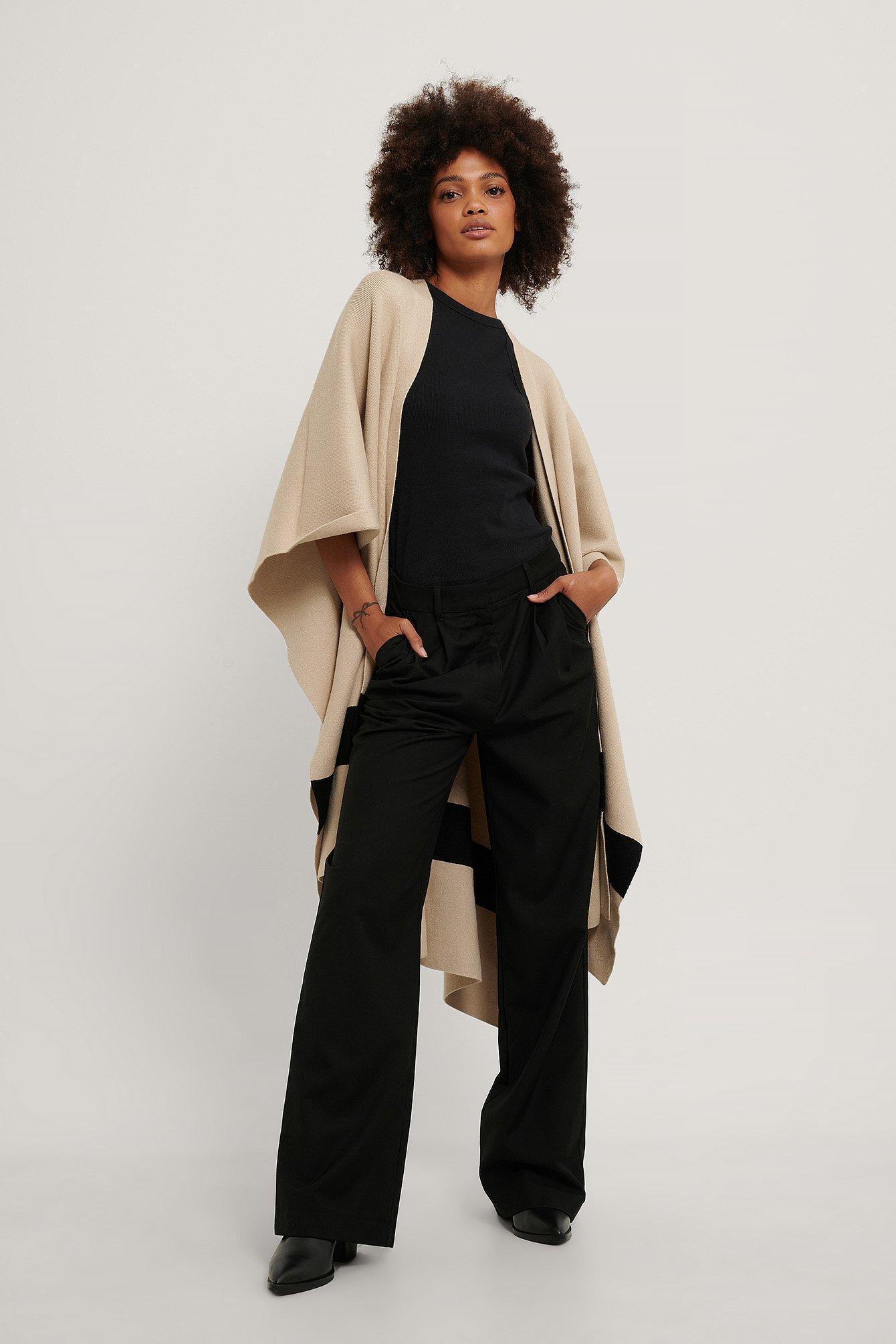 na-kd accessories -  Poncho - Beige