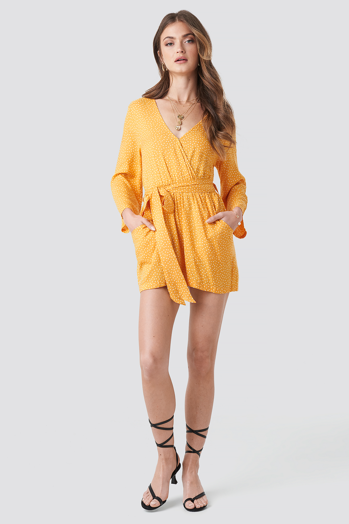Wrap Playsuit NA-KD.COM