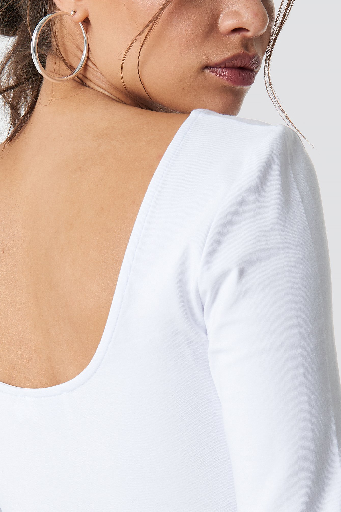 Basic Deep Back Top NA-KD.COM