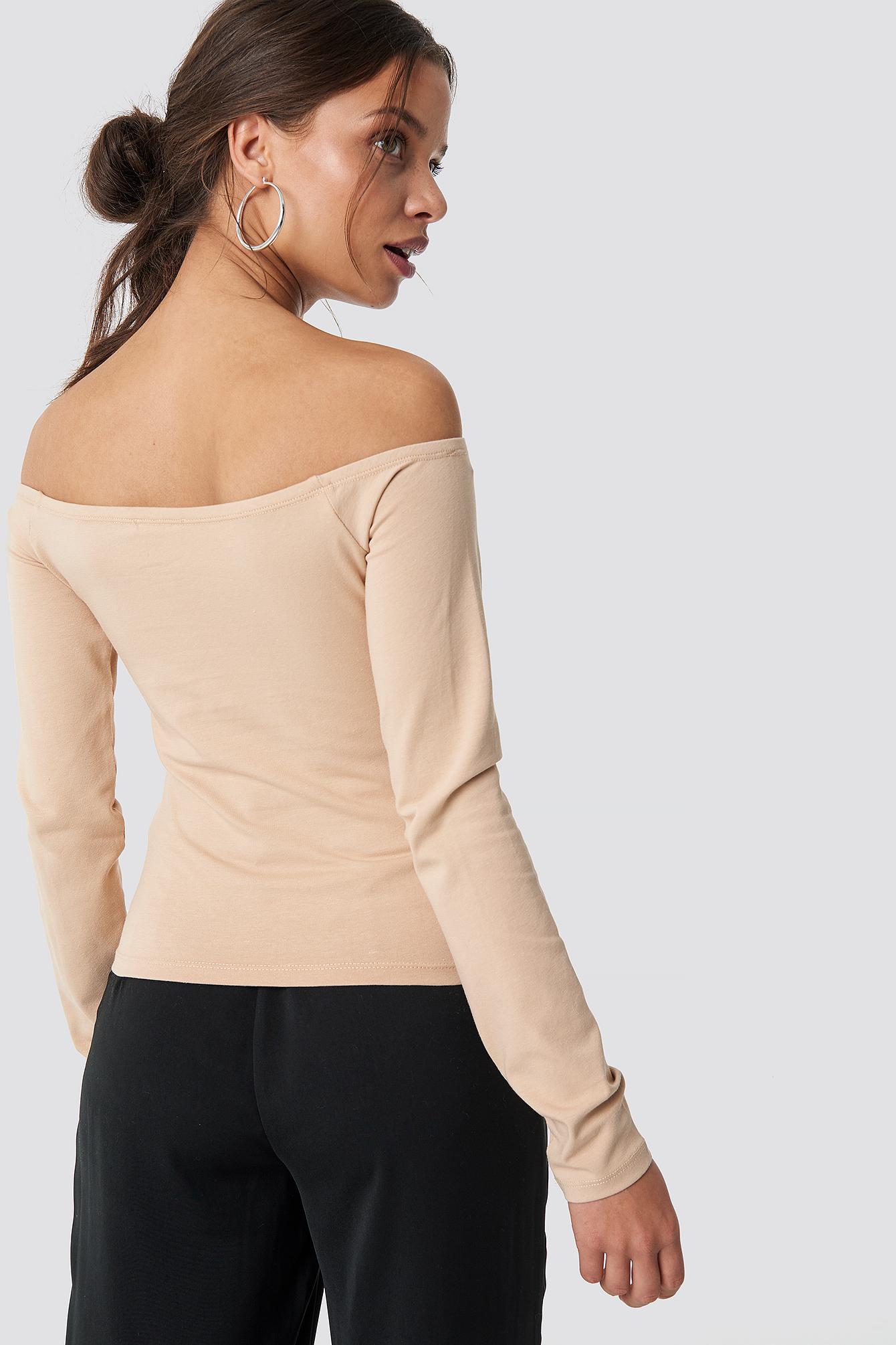 Basic Off Shoulder Top NA-KD.COM