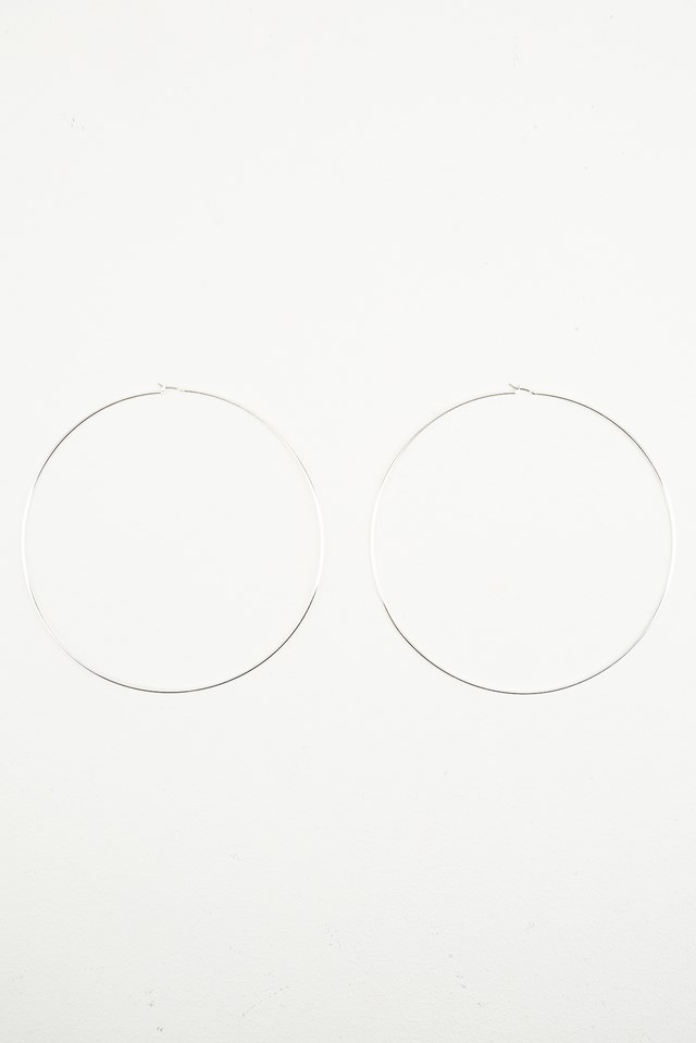 XL Hoop Earrings NA-KD.COM