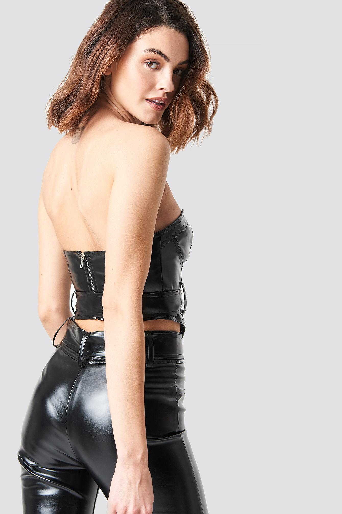Amanda Belted Bustier NA-KD.COM